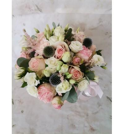 Boks z kwiatów mieszanych